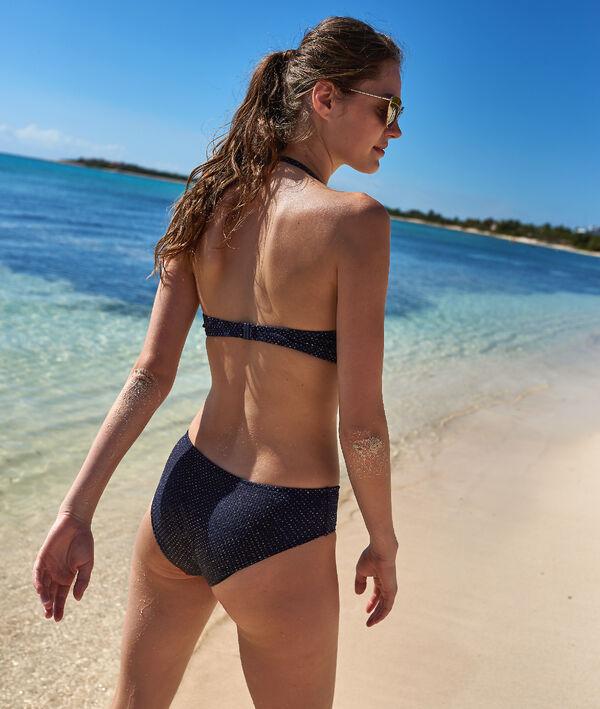 Bas de bikini shorty, irisé
