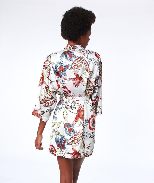 Kimono imprimé végétal