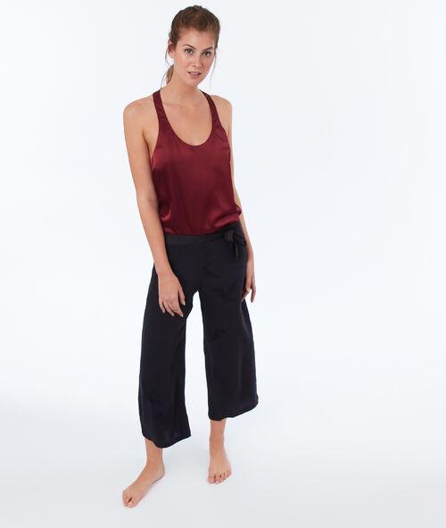 Pantalon en jacquard