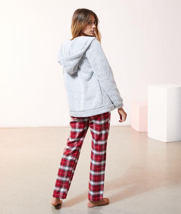 "Pyjama 3 pièces ""Cosy"", veste polaire;${refinementColor}"