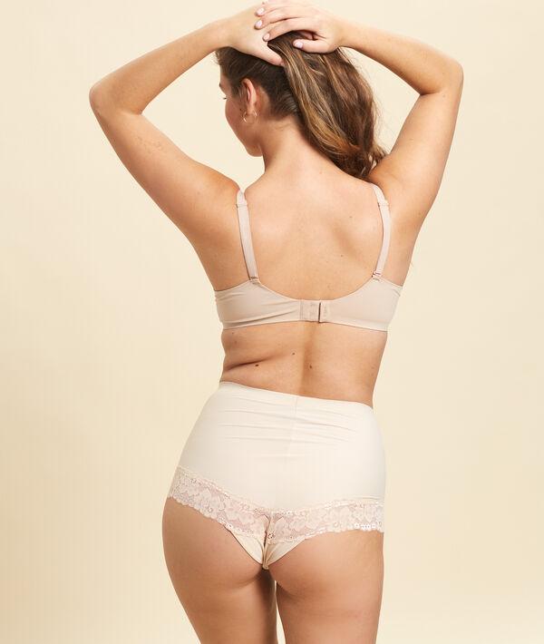 Culotte taille haute dentelle - Maintien léger;${refinementColor}