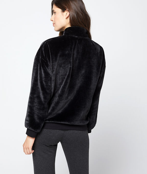 Veste homewear épaisse ultra douce