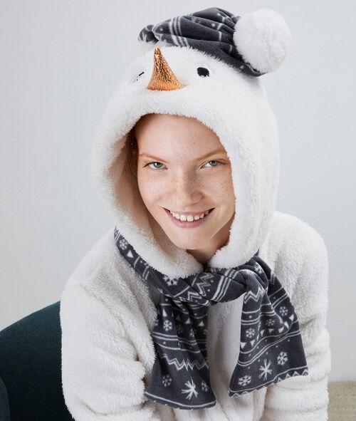 Combinaison pyjama Bonhomme de Neige
