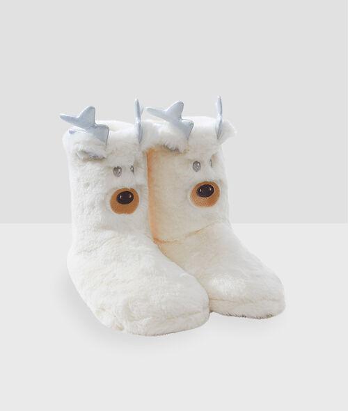 Chaussons bottines animaux