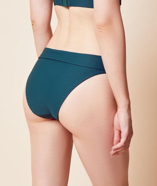 Bas de bikini taille haute, multipositions;${refinementColor}