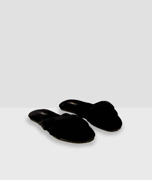 Chaussons tongs en coton