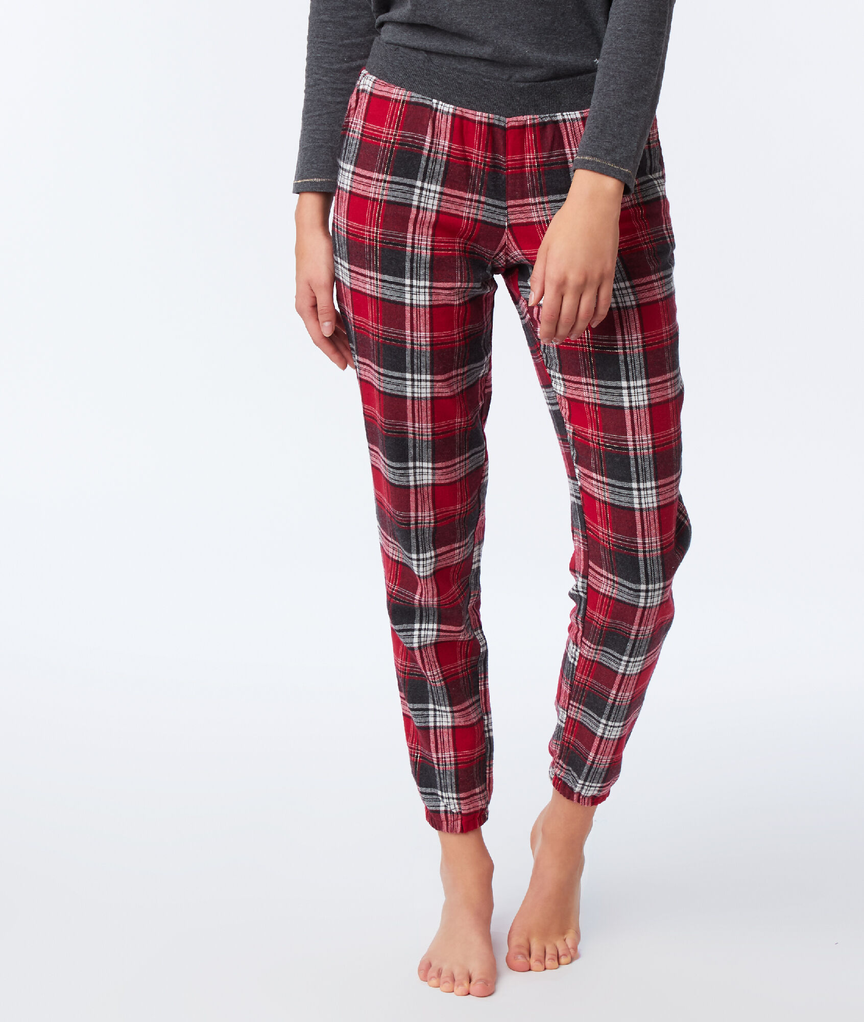 Pyjama 3 Pieces Teddy Bear Odilon Anthracite Etam
