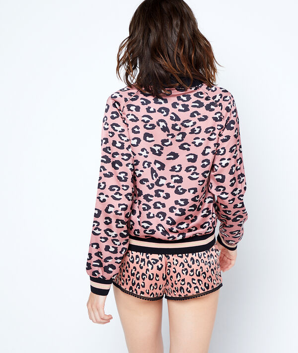 Veste imprimé léopard