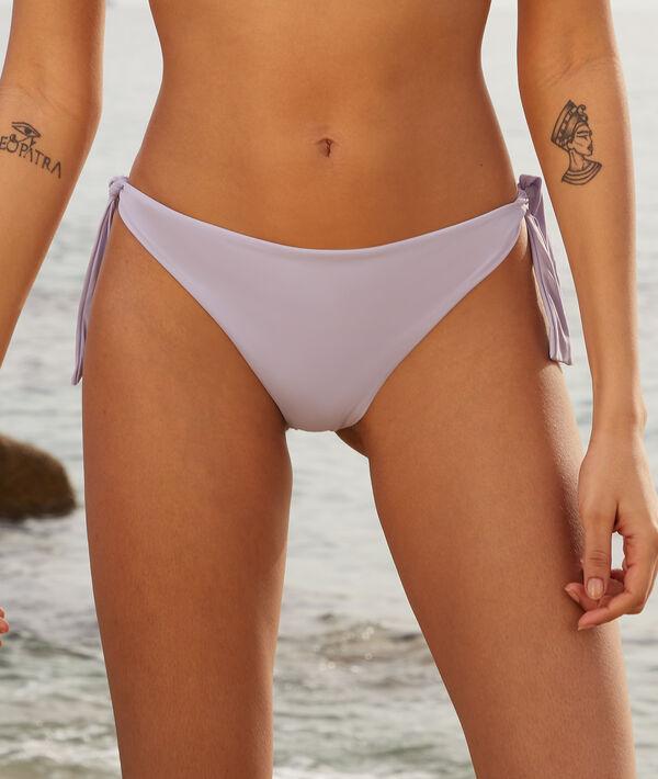 Bikini brésilien noué maillot de bain;${refinementColor}