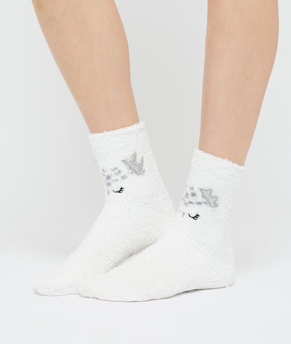 Chaussettes cocooning hiboux