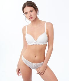 Soutien-gorge n°1 - magic up blanc.