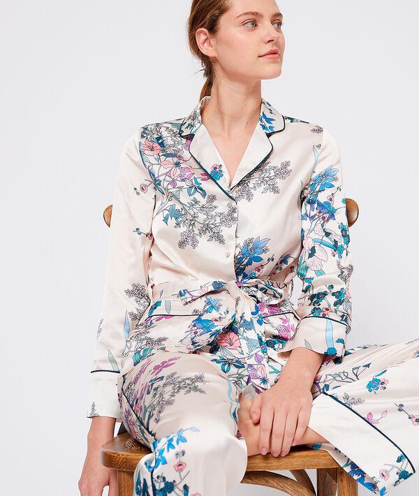 Chemise de pyjama imprimée