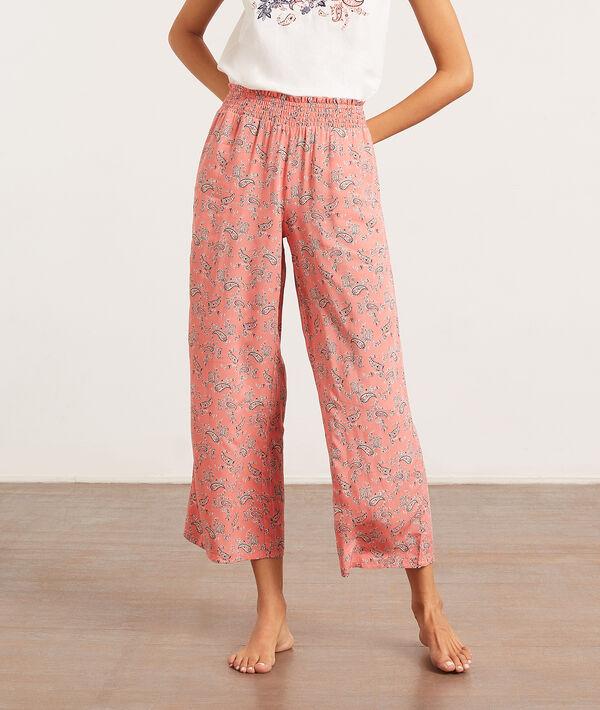 Pantalon de pyjama imprimé bandana;${refinementColor}