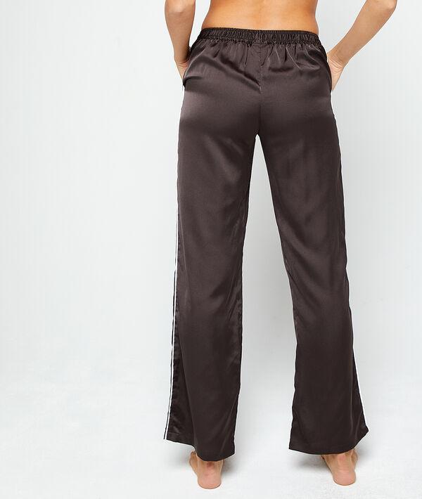 Pantalon satiné