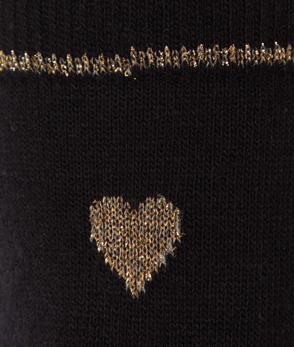 Chaussettes à fil métallisé