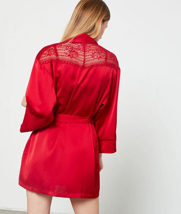 Kimono satiné