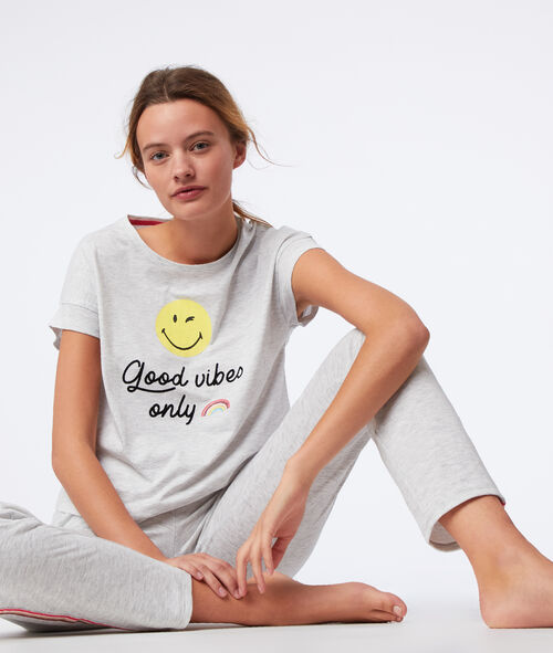 "T-shirt ""Good vibes only"""