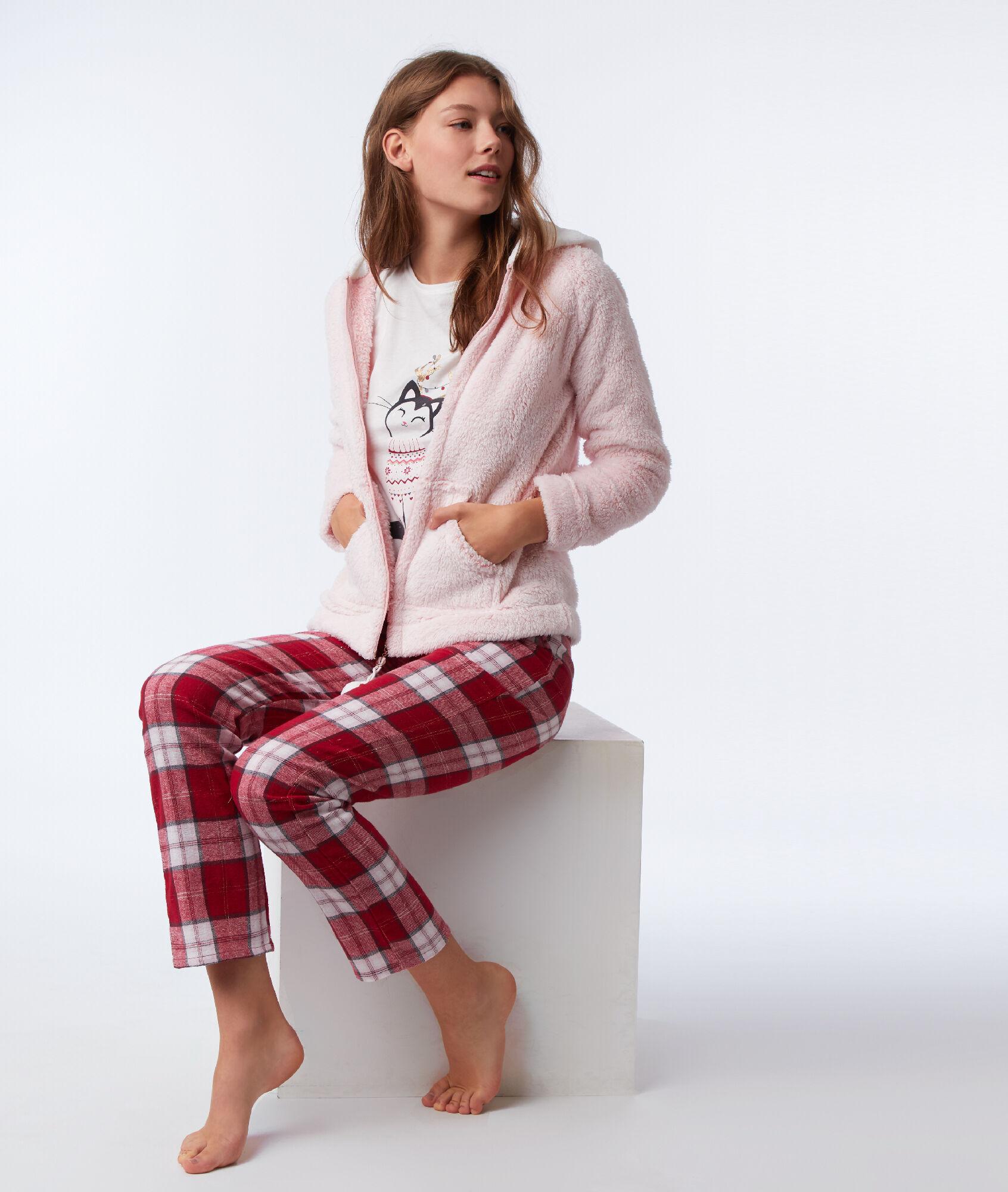 Pyjama trois pièces Chaton - ORMELLE - ROSE - Etam dba9cb66e56
