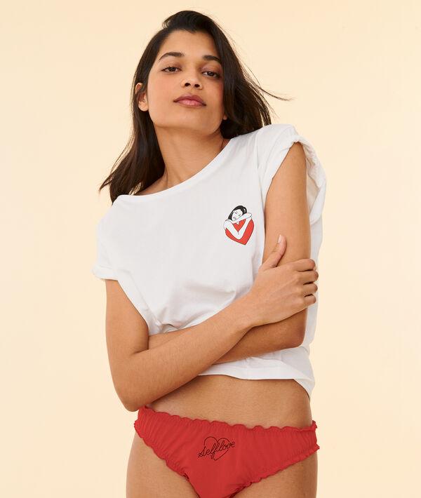 "T-shirt tattoo ""Selflove"";${refinementColor}"