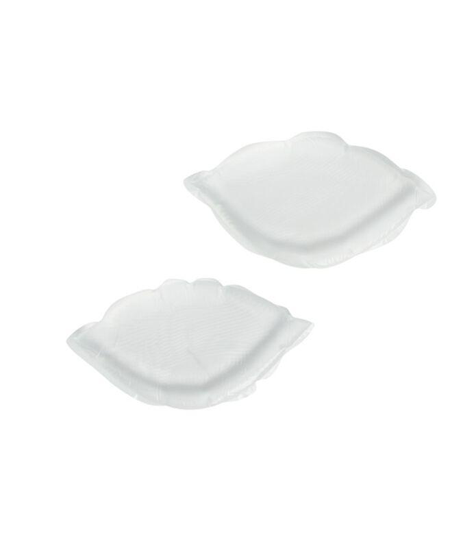 Coussinets en silicone transparent.