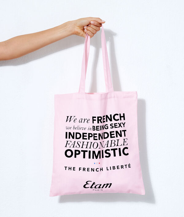"""Tote Bag """"Oui à l'optimisme"""";${refinementColor}"""