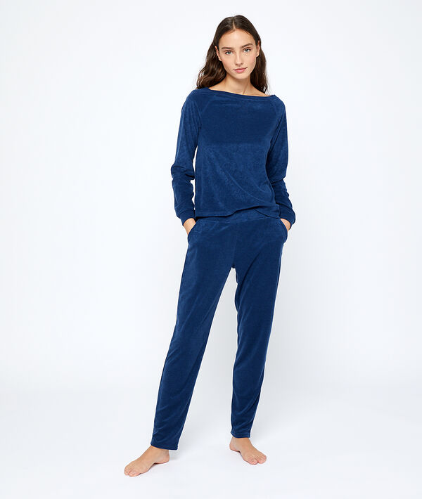 Top manches longues loungewear
