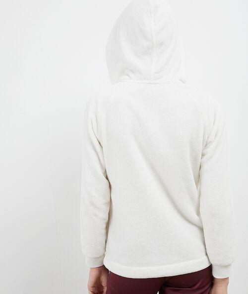 Veste licorne à capuche en fausse fourrure