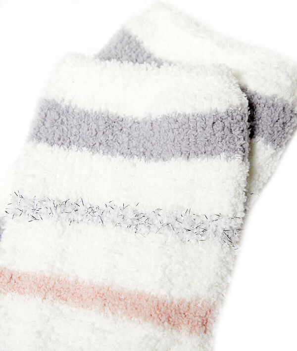 Chaussettes cocooning rayées
