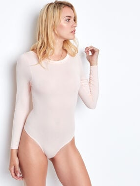 Body léger et ultra chaud rose.