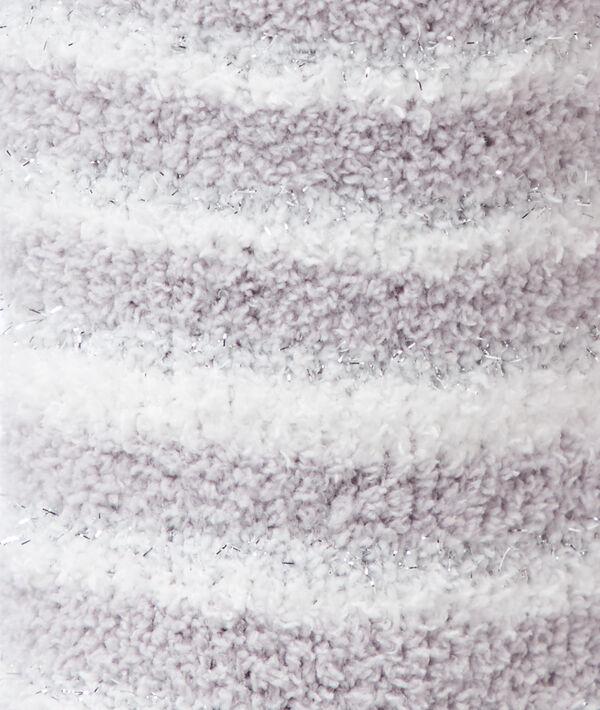 Chaussettes doudou à fibres métallisées