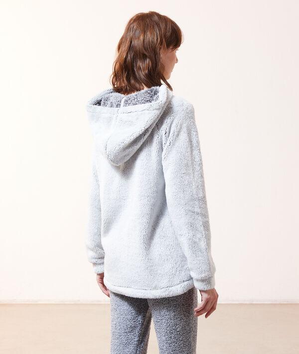 "Sweatshirt polaire ""Shine all night"";${refinementColor}"