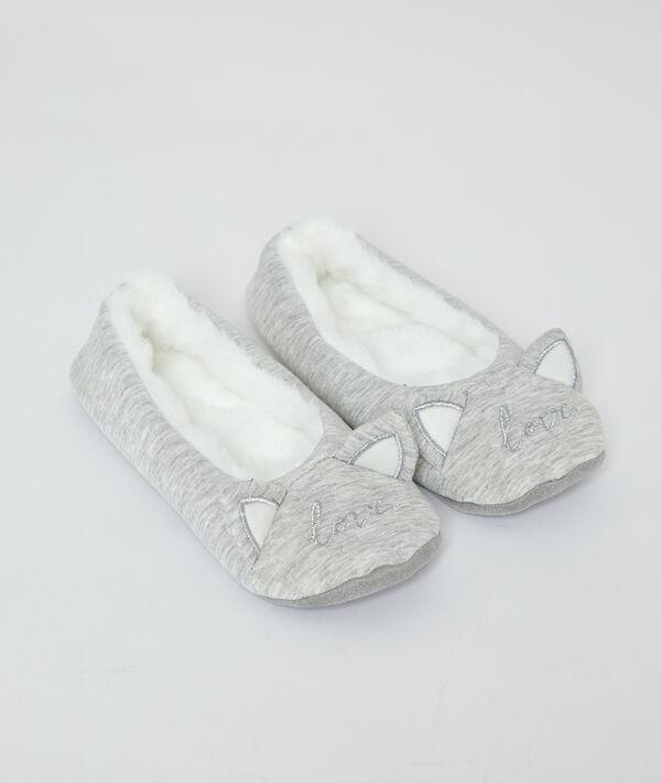 """Chaussons chaussettes """"love"""";${refinementColor}"""