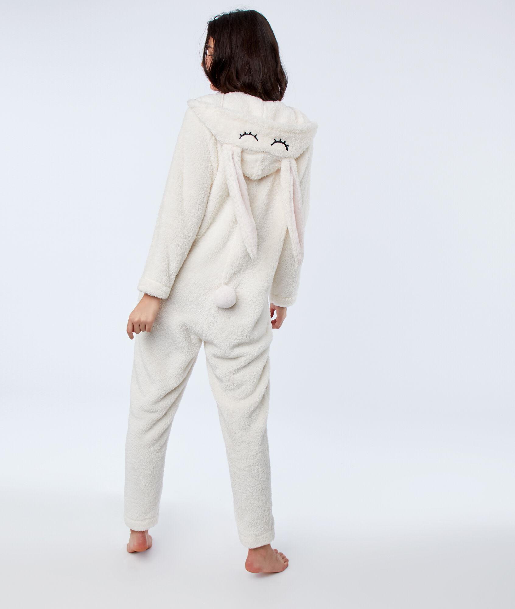 original à chaud rabais de premier ordre pas cher à vendre Lapin Écru Etam Doryan Combinaison Pyjama qUSzVMp
