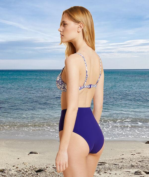 Culotte taille haute sculptante maillot de bain;${refinementColor}