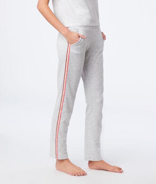 Pantalon à bandes latérales