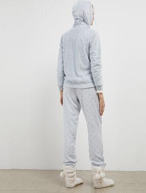 "Pyjama 3 pièces licorne ""you are amazing"" bleu ciel."