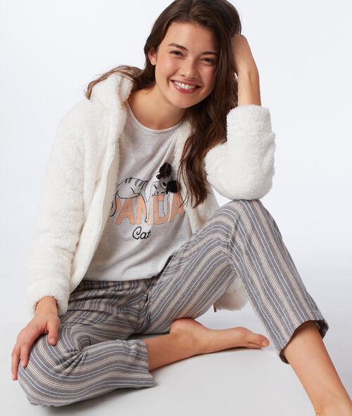 Pyjama 3 pièces Panda Cat
