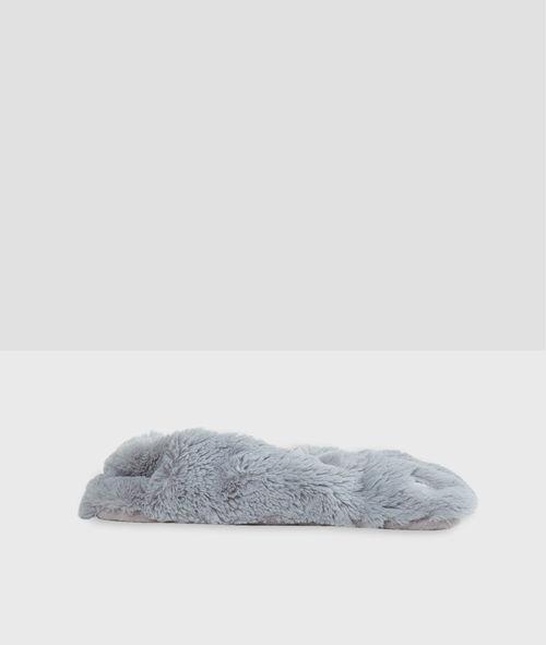 Chaussons doudou forme patte