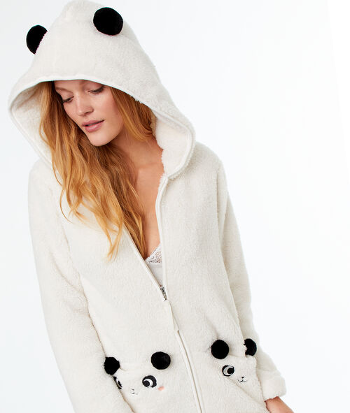 Veste doudou panda