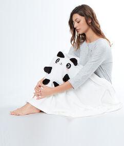 Plaid panda blanc.