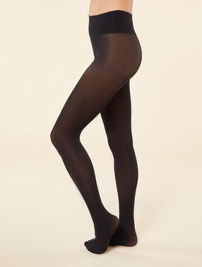 Collants semi-opaques 30d noir.