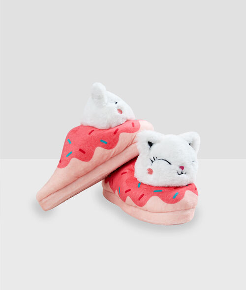 Chaussons chats 3D