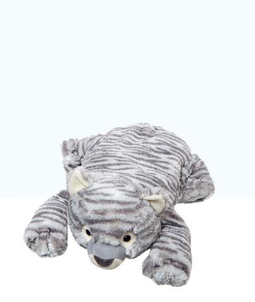 Range pyjama peluche chat tigré