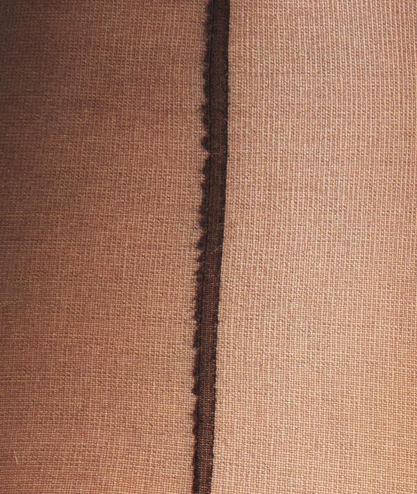 Collant voile couture - 15D;${refinementColor}
