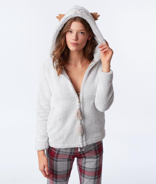 Veste homewear hibou