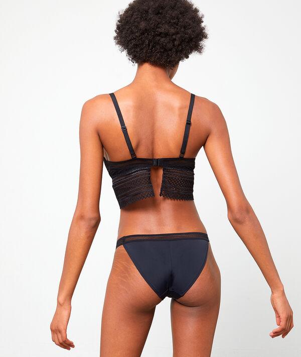 Slip bikini,dentelle graphique