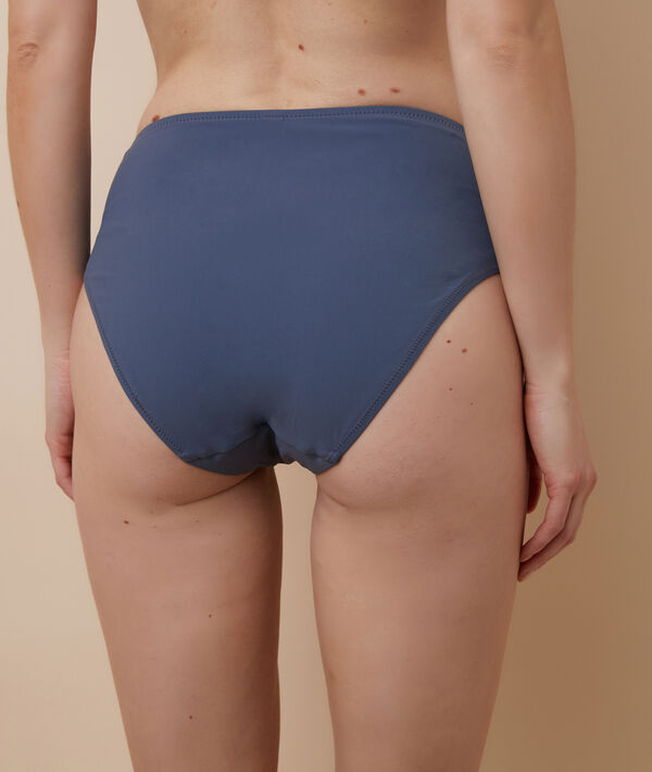 Bas de bikini taille haute;${refinementColor}