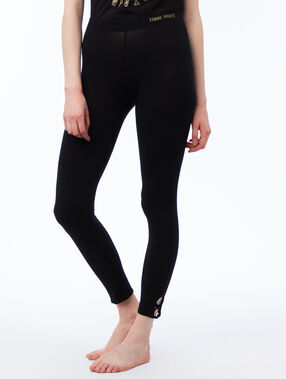 Pantalon leggings noir.
