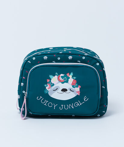 JUNGLE - TROUSSE DE TOILETTE IMPRIMÉE