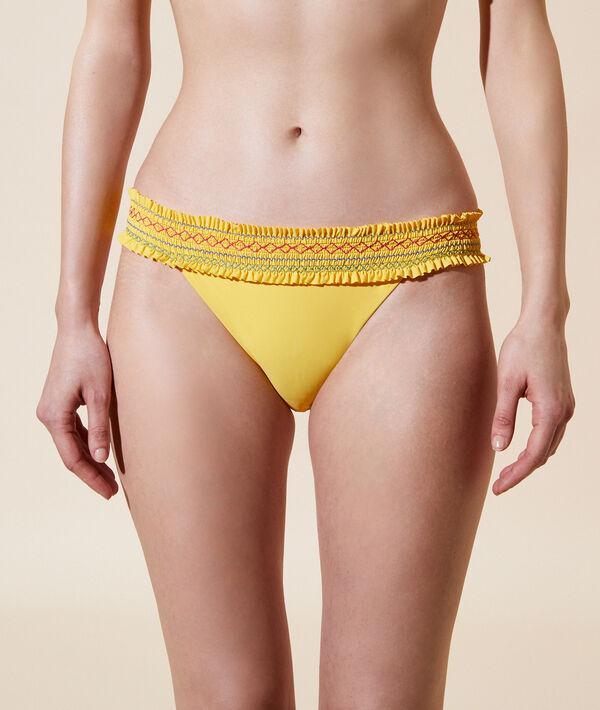 Bas de bikini simple - DEESSE - 36 - Jaune - Femme - Etam